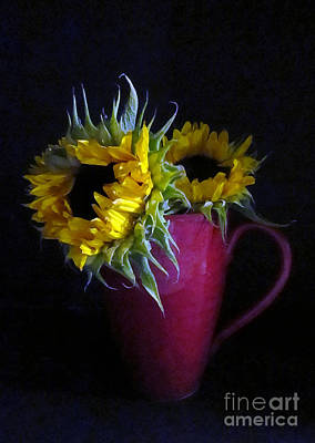 Photograph - Two Yellow Flowers by Patricia Januszkiewicz