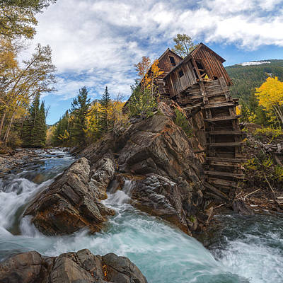 Photograph - Twystal Mill by Dustin  LeFevre
