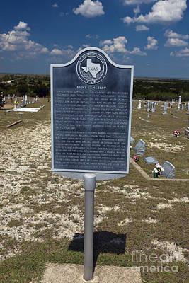 Blue Hues - TX-1557 Fairy Cemetery by Jason O Watson