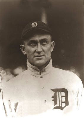 Ty Cobb 1915 Art Print by Unknown