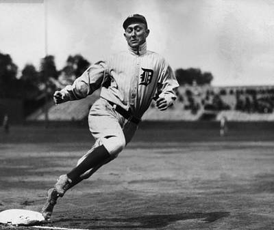 Detroit Tigers Photograph - Ty Cobb by Gianfranco Weiss
