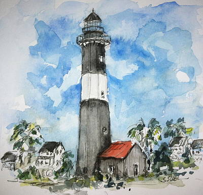 Painting - Tybee Island Georgia by Stephanie Sodel