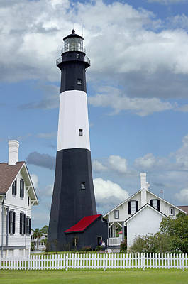 Tybee Island Light Art Print by Mike McGlothlen