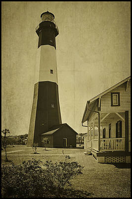 Tybee Island Light Station Art Print by Priscilla Burgers