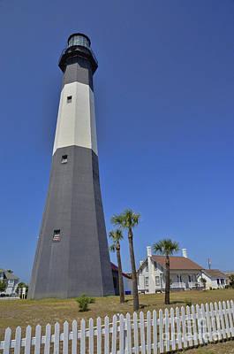Photograph - Tybee Island Lighthouse 2 by Allen Beatty