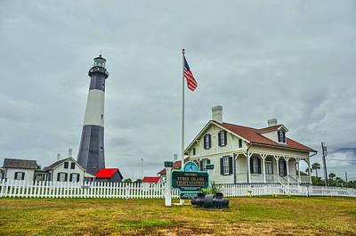 Tybee Island Lighthouse Art Print by Donnie Smith