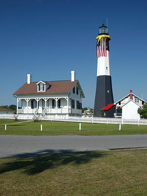 Photograph - Tybee Island Lighthouse Ga by Bob Pardue
