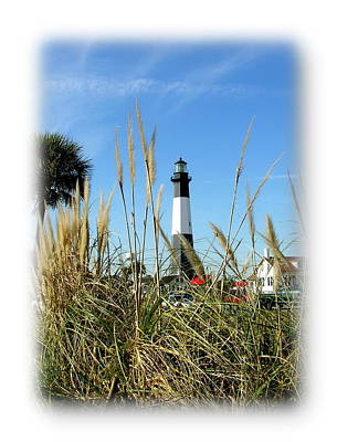 Photograph - Tybee Island Lighthouse by Jacqueline M Lewis