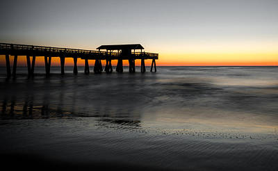 Photograph - Tybee Island Pier by Anthony Doudt