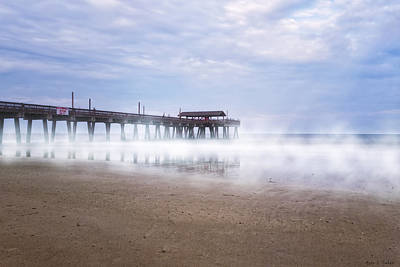 Photograph - Tybee Island Pier by Mark E Tisdale