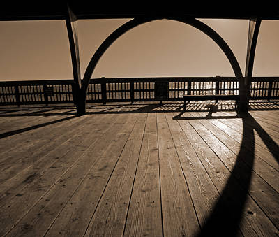 Purchase Online Photograph - Tybee Island Pier by Steven Michael