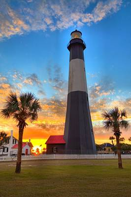 Photograph - Tybee Island Sunrise by Gordon Elwell