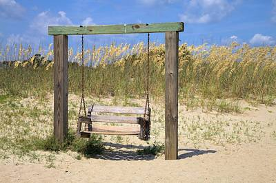 Photograph - Tybee Island Swing by Gordon Elwell