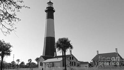 Photograph - Tybee Lighthouse 1 by D Wallace