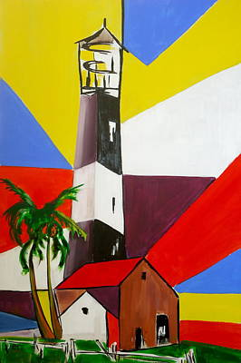 Lighthouse Drawing - Tybee Lighthouse II by Pete Maier