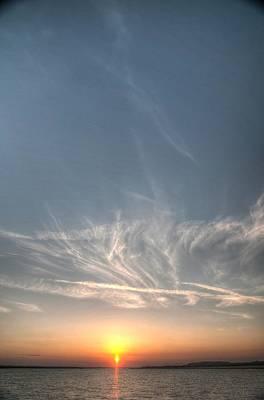Tybee Sunset 2 Art Print by Dem Wolfe