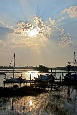 Photograph - Tybee Sunset by Carol Erikson