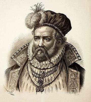 Tycho Brahe Art Print by Paul D Stewart