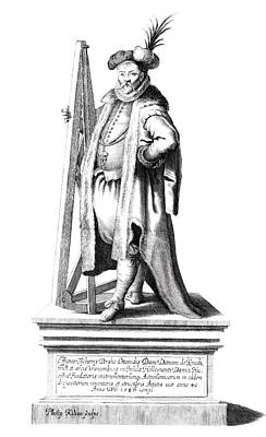 Historia Wall Art - Photograph - Tycho Brahe by Royal Astronomical Society/science Photo Library