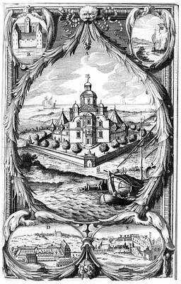 Historia Wall Art - Photograph - Tycho Brahe's Observatory by Royal Astronomical Society/science Photo Library