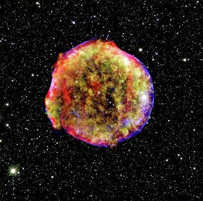 Tycho Supernova Remnant Art Print