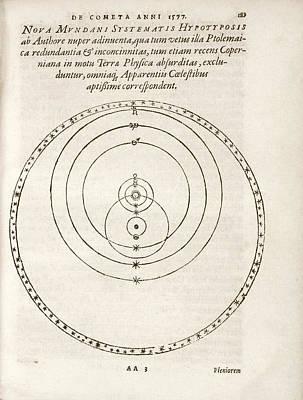 Tychonic World System Art Print