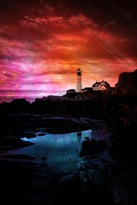 Photograph - Tye Dye Sky by Emily Stauring
