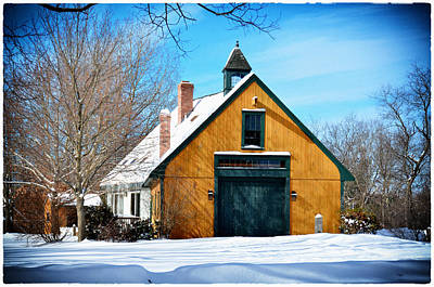 Photograph - Tyngsborough Barn by Tricia Marchlik