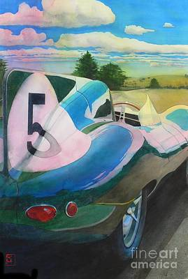 Automobilia Painting - Type D by Robert Hooper