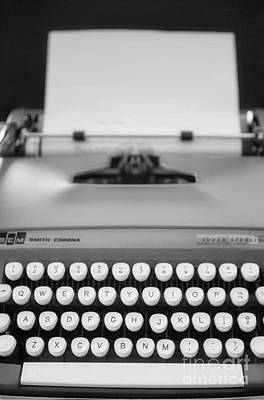 Typewriter Photograph - Type It by Rebecca Cozart