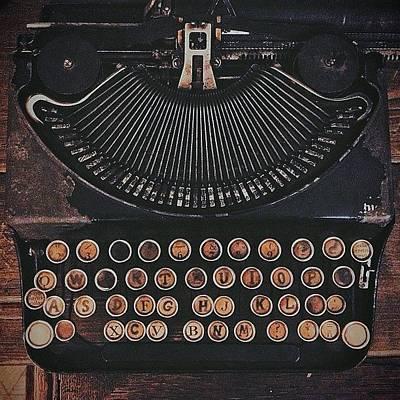 #typewriter Art Print