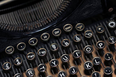 Photograph - Typewriter Remembered by Harold E McCray