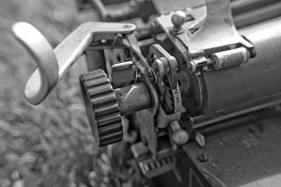Typewriter Photograph - Typewriterdynamic-1 by Pittsburgh Photo Company