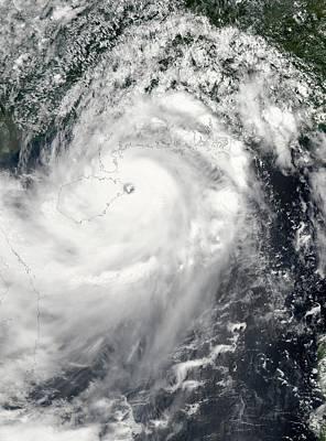 Typhoon Rammasun Print by Nasa Goddard Modis Rapid Response Team