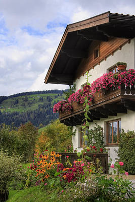 Photograph - Typical Austrian Architecture by Susan Leonard