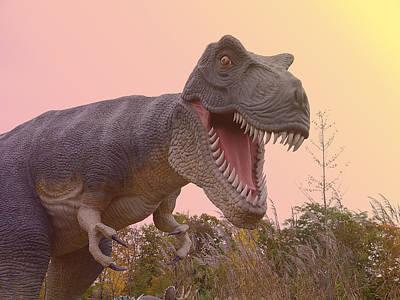 Photograph - Tyrannosaurus Rex by Richard Reeve