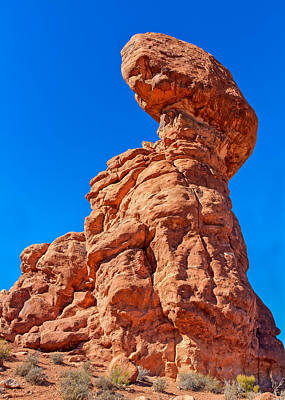 Photograph - Tyrannosaurus Rock by John M Bailey