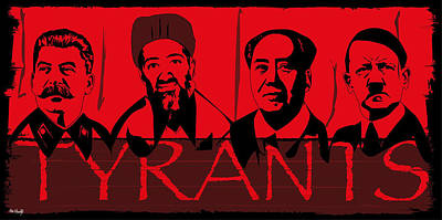 Tyrants Art Print by Roby Marelly