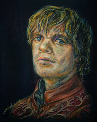 30 X 24 Painting - Tyrion Lannister Game Of Thrones by Jack No War