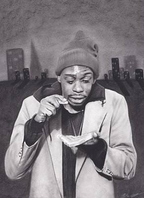 Dave Drawing - Tyrone Biggums In The Tenderloin by Brittni DeWeese