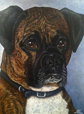 Painting - Tyson by Ana Marusich-Zanor