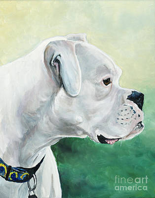 Tyson Art Print by Charlotte Yealey