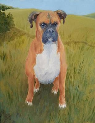 Painting - Tyson by Sharon Casavant