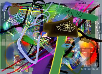Tzaddik Digital Art - Tzaddik 6g by David Baruch Wolk