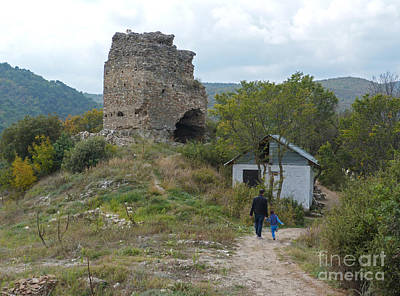 Photograph - Tzarevi Kuli Fortress - Strumica by Phil Banks