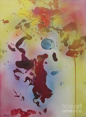 Painting - Tzfasser 13 - Mystic Synapse #2 by Dov Lederberg