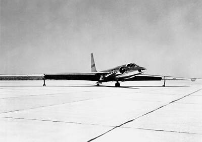 U-2 Photograph - U-2 Reconnaissance Aircraft by Underwood Archives