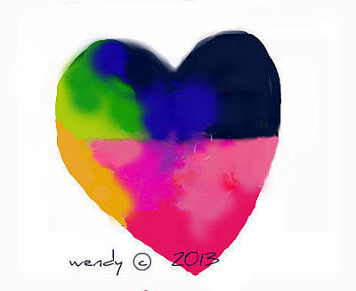 Painting - U Are Love by Wendy Wiese