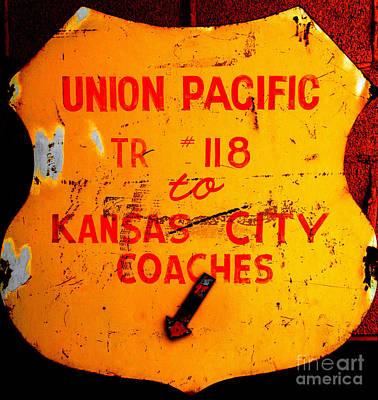Photograph - U P To K C by Steven Parker