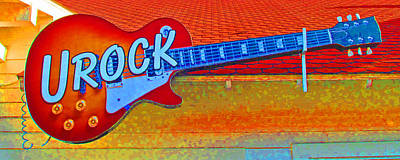 Photograph - U Rock by Barbara McDevitt